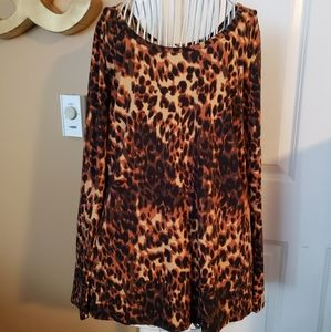 LulaRoe cheetah top